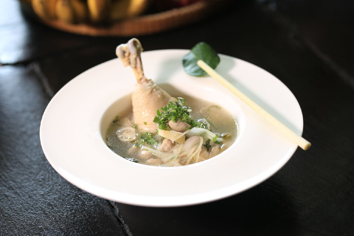 Chicken Soup Dish