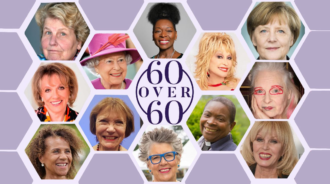 Look Fabulous Forever - 60 over 60 Banner