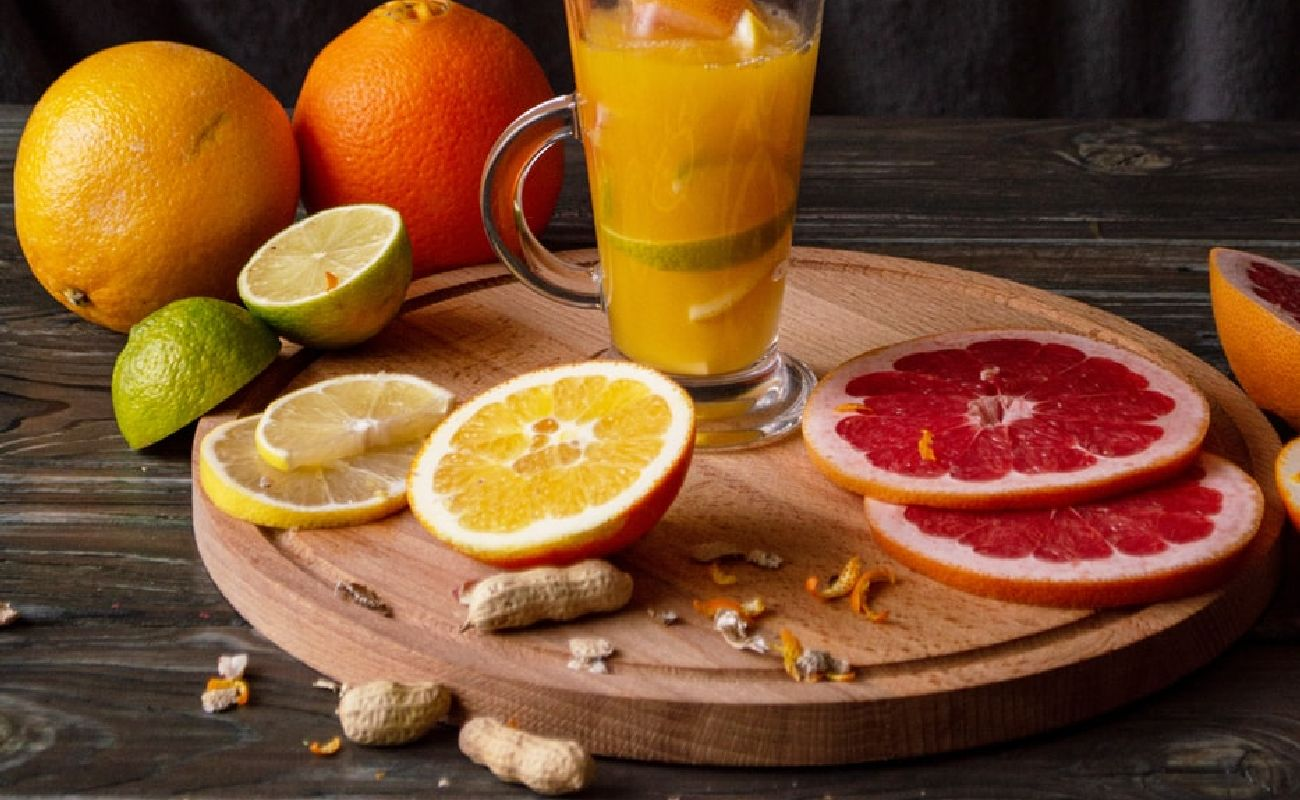 Fruit Juice With Fruits