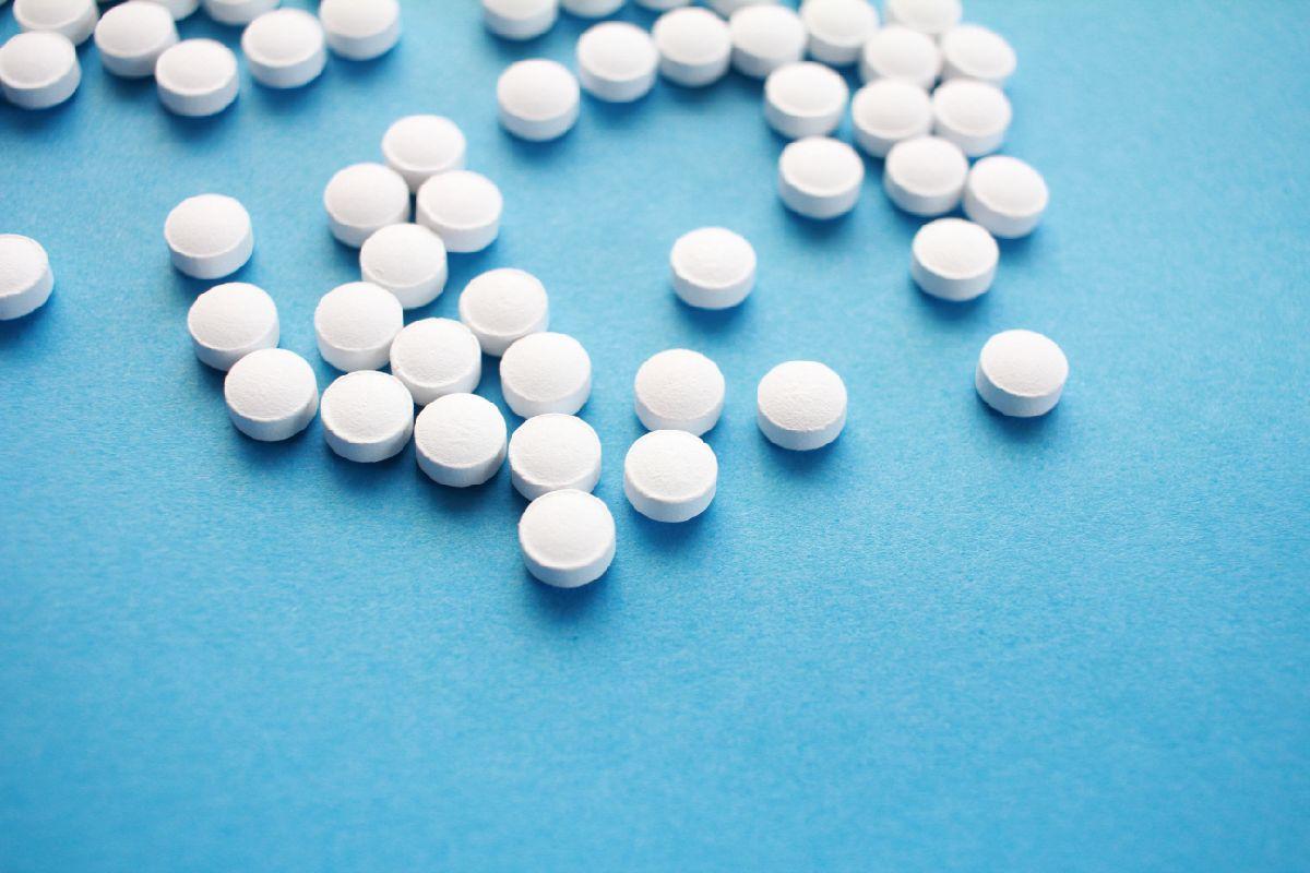 Pills - White Pills On Blue